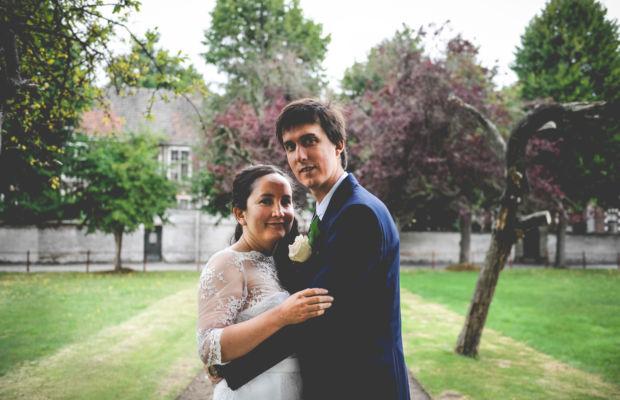Romantische bruid